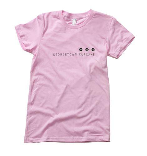 Women s Logo T-shirt (Pink) Georgetown Cupcake 1ff5d7e01
