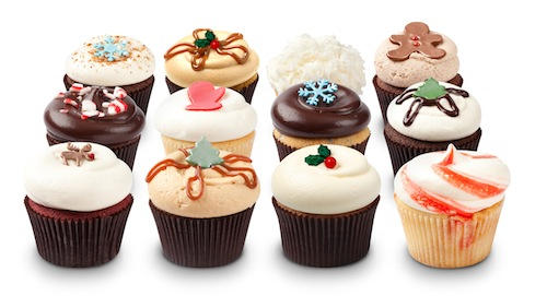 Los Angeles Holiday Cupcake Decorating - Sunday, December 14, 2014